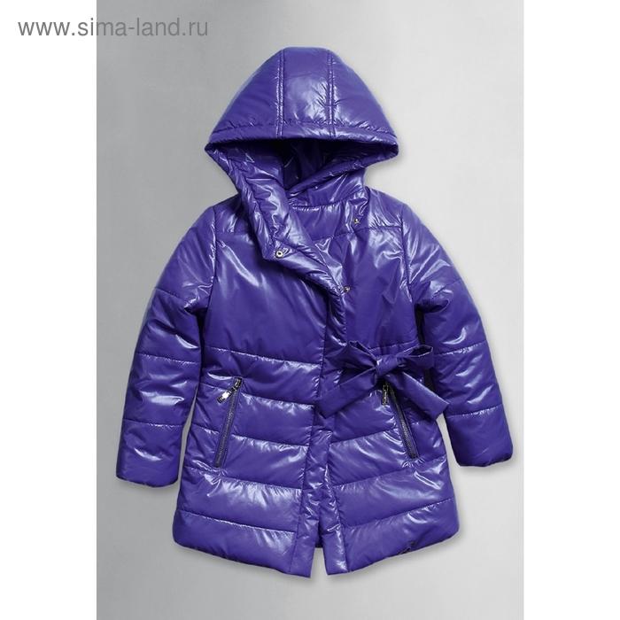 Пальто для девочки, 5 лет, цвет фиолетовый GZFL371/1