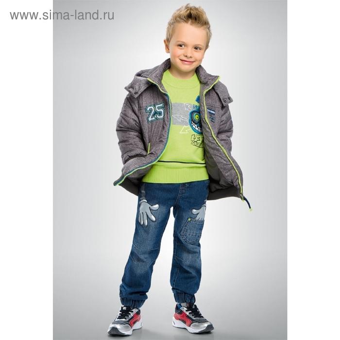 Куртка для мальчика, 4 года. цвет серый BZWL356/1