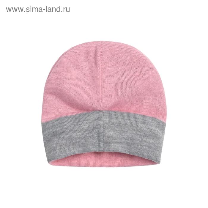 Шапка для девочки, размер 50-51, цвет розовый GQ380/2