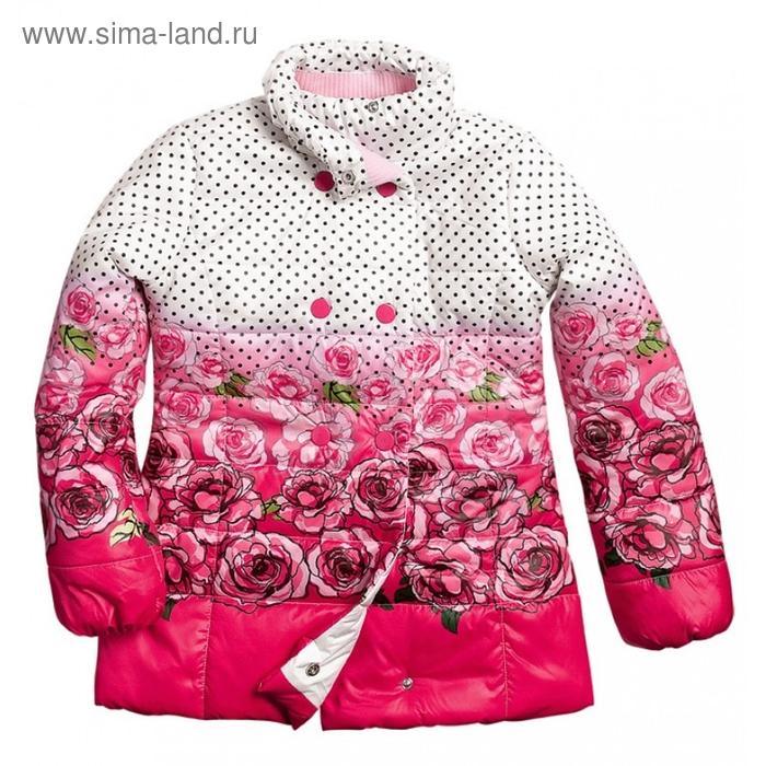 Куртка для девочки, 11 лет, цвет красный GZWL474