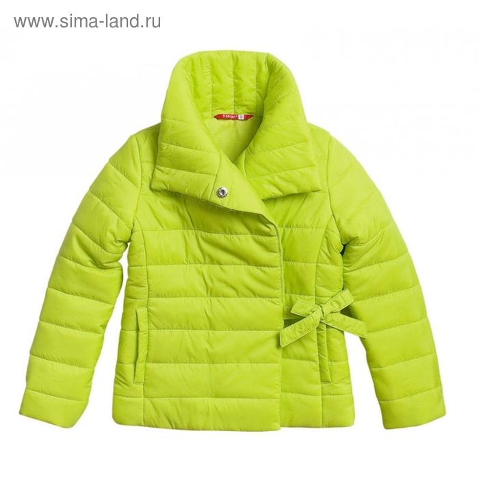 Ветровка для девочки, 4 года, цвет зелёное яблоко GZIM370