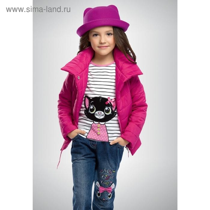 Ветровка для девочки, 4 года, цвет малиновый GZIM370