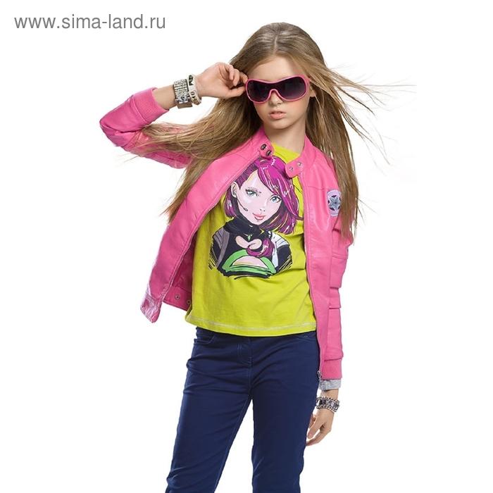 Ветровка для девочки, 7 лет, цвет розовый GZIN488