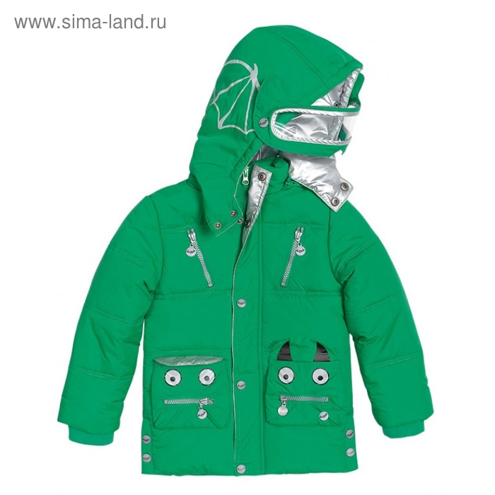 Куртка для мальчика, 4 года, цвет зелёный BZWT363