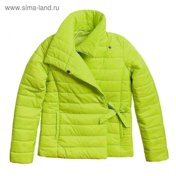 Ветровка для девочки, 9 лет, цвет зелёное яблоко GZIM477