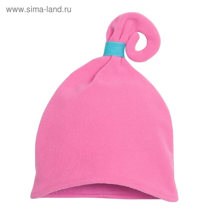 Шапка для девочки, размер 50-51, цвет розовый GQ384
