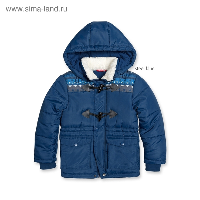 Куртка для мальчика, 2 года, цвет синий BZWT361