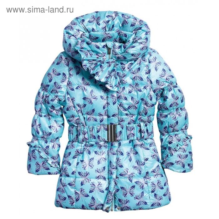 Пальто для девочки, 2 года, цвет мятный GZFL371