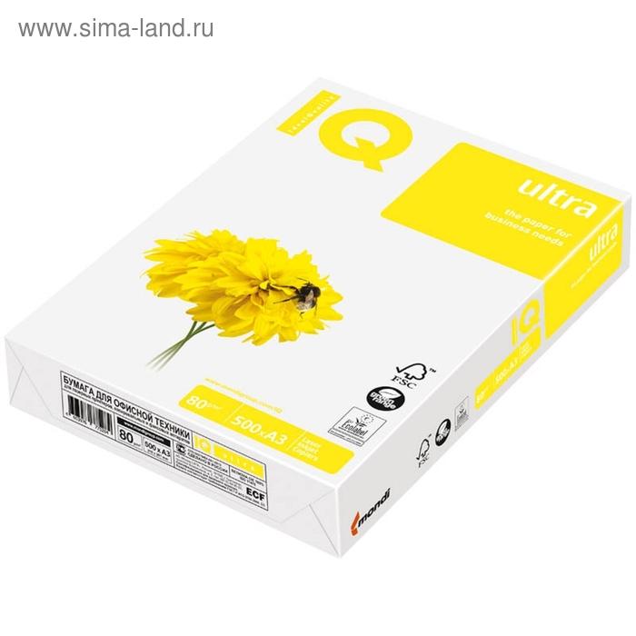 Бумага А3 500л IQ Ultra 80г/м2,168%CIE класс А+