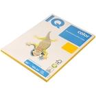 Бумага цветная IQ COLOR Intensive (А4,80г,SY40-солнечно-желтый) пачка 100л, А+