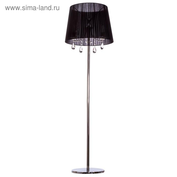 """Торшер """"Арабская ночь"""" 3 лампы, 40W Е14, чёрный"""
