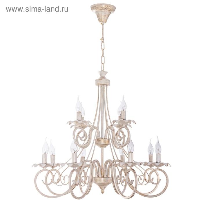"""Люстра """"Патриций"""", 12 ламп, 40W Е14"""