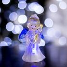 """Игрушка световая """"Ангел с гитарой"""" (батарейки в комплекте) 1 LED, RGB, цветной"""