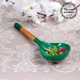 Ложка столовая «Зеленушка», хохлома