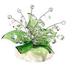 Хрустальные цветы на мраморе CR