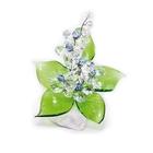 Хрустальные цветы на мраморе №22 CR lp