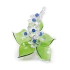 Хрустальные цветы на мраморе №22 CR s