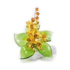 Хрустальные цветы на мраморе №22 LT TOP