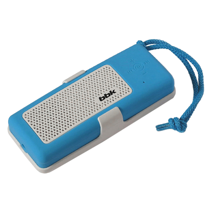 Портативная колонка BBK BTA190, 5Вт, MP3, FM, Bluetooth, Li-Ion 4500 mAh, синяя