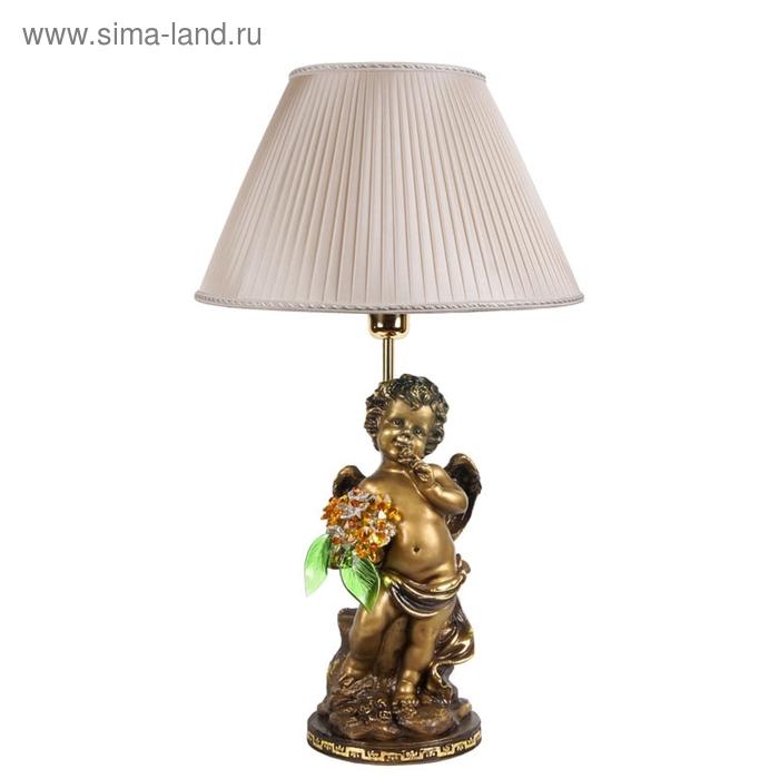 """Настольная лампа """"Ангел с хрустальными цветами"""" LT TOP"""