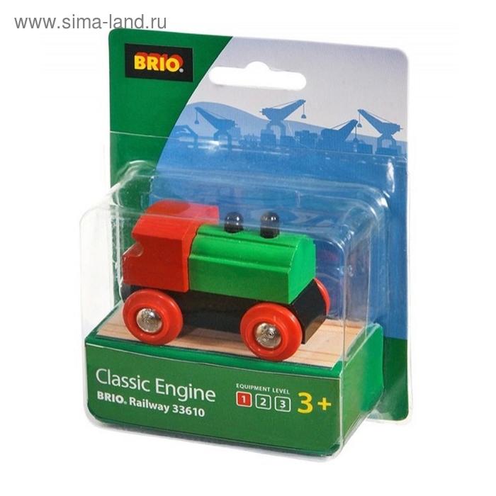 BRIO Паровоз классика, 7х3,4х4,8см, шт