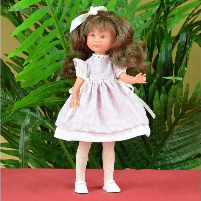 """Кукла """"Селия"""" в пышном бело-розовом платьице"""