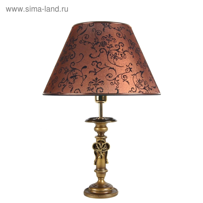 """Настольная лампа """"Ампир"""", коричневый"""