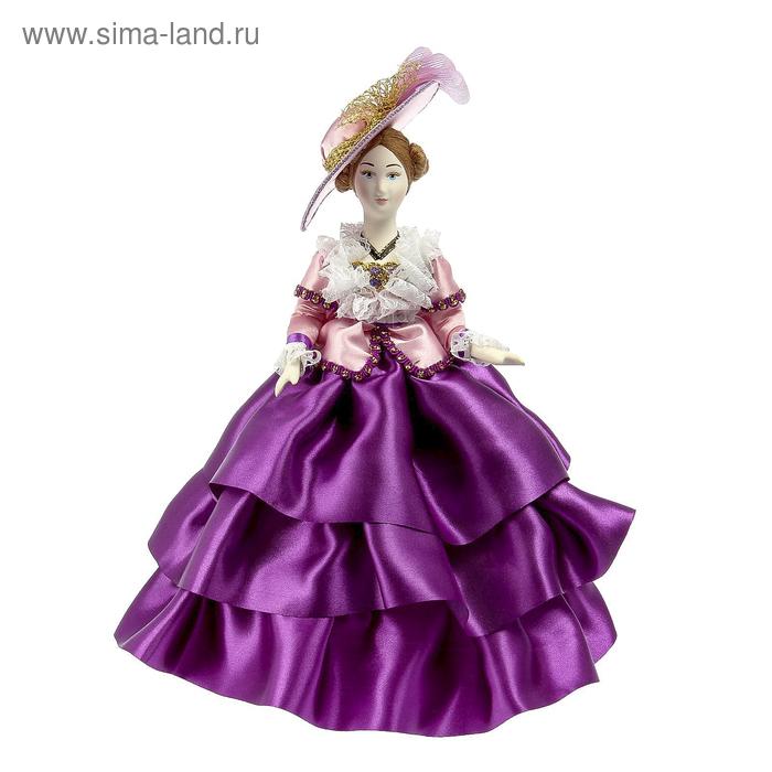 """Авторская сувенирная кукла """"Дама в прогулочном костюме"""""""