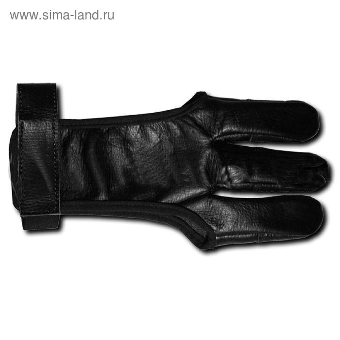 Напальчник традиционный (черн кожа) M