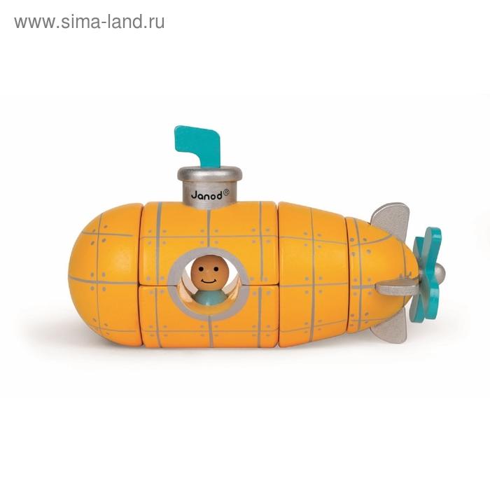 """Конструктор магнитный """"Подводная лодка"""""""