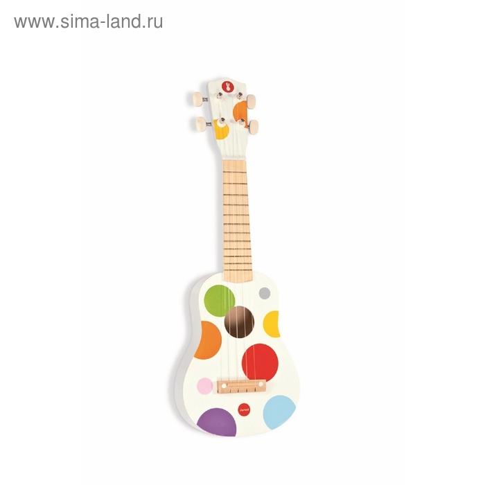 Гавайская гитара, цвет белый