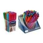 Ручка шариковая Pensan My-Club 2231 Colored, резиновый упор, узел 1.0 мм, 6 цветов, в стакане