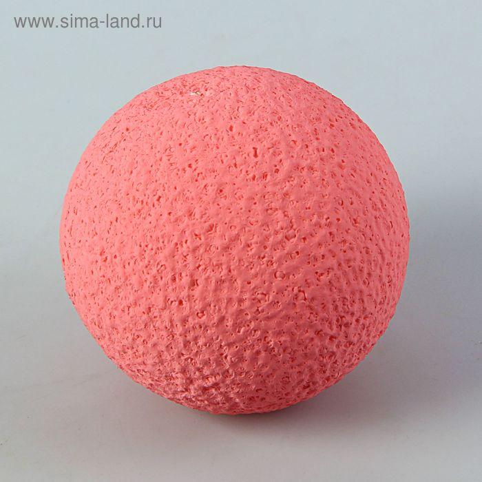 Шар из пенопласта 8 см, розовый