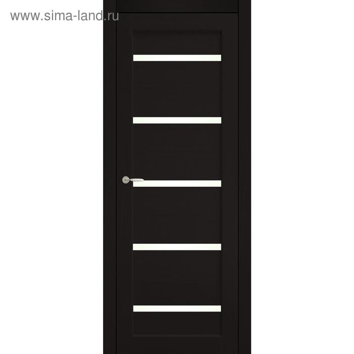 Дверное полотно остекленное Аврора Венге 2000х800