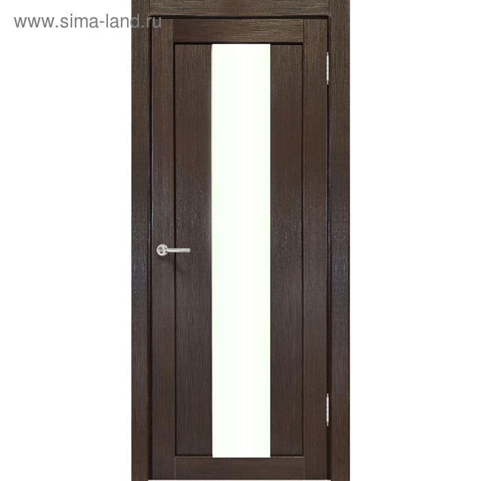 Дверное полотно остекленное Сардиния Венге 2000х800