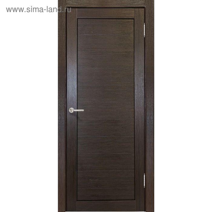 Дверное полотно Аврора Венге 2000х900