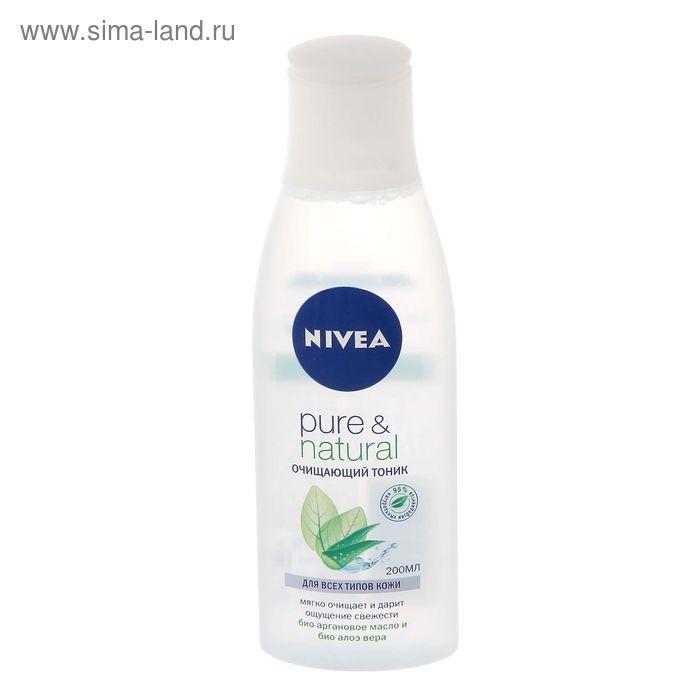 Очищающий тоник для лица Nivea Pure & Natural, 200 мл