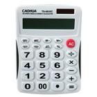 Калькулятор настольный 12-разрядный TS-8835C Caohua двойное питание, большие кнопки