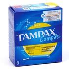 Тампоны «Tampax» Compak Regular Single, с аппликатором, 8 шт