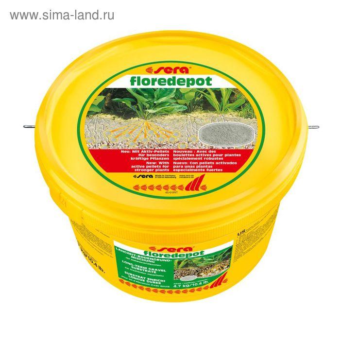 Грунт для растений Florendepot Sera, 4.7 кг, в ведре