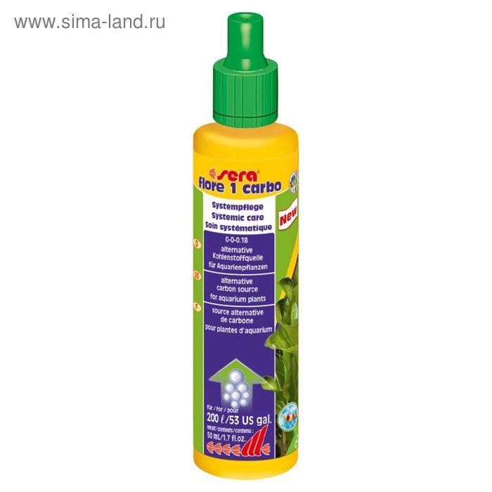 Удобрение для растений Sera Flore 1 Carbo,  50 мл