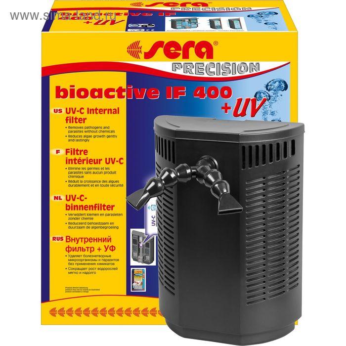 Внутренний фильтр sera биоактив IF400 + УФ, 22х30х11 см