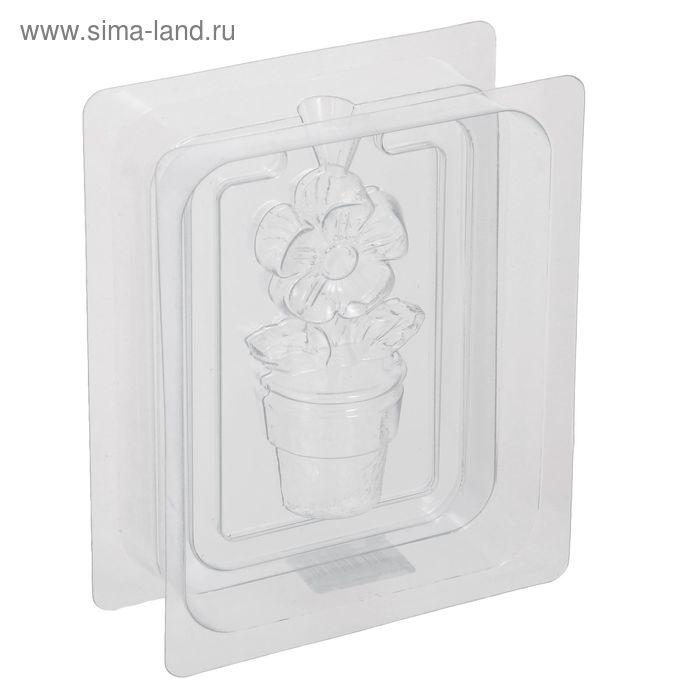 "Пластиковая форма 3D ""Цветок"""