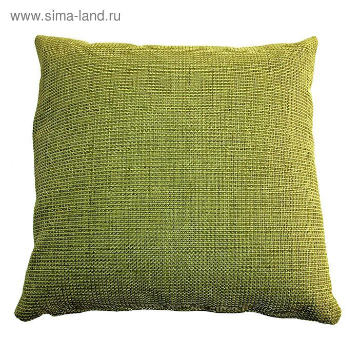 Подушка декоративная DALLAS, 50X50, цвет зеленый
