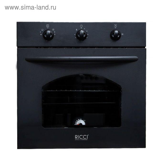 Духовой шкаф Ricci RGO-610BL, черный