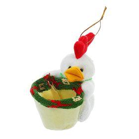 Конфетница 'Цыплёнок' с бантиком, цвета МИКС Ош