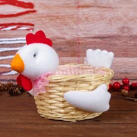 Конфетница 'Цыплёнок', белый хвостик, 500 г Ош