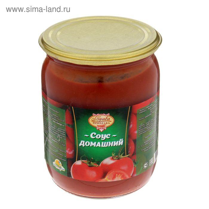 """Соус """"Брава Приправа"""" томатный домашний с/б, 500 г"""