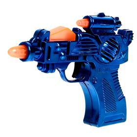 Пистолет 'Бластер', свет и звук, работает от батареек, цвета МИКС Ош