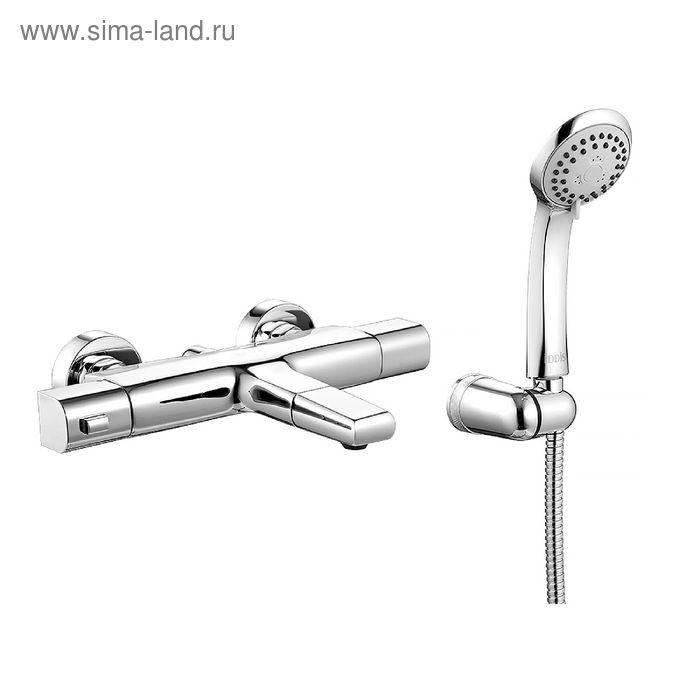 Смеситель для ванны IDDIS Uniterm, UNISB00i74, с термостатом, универсальный